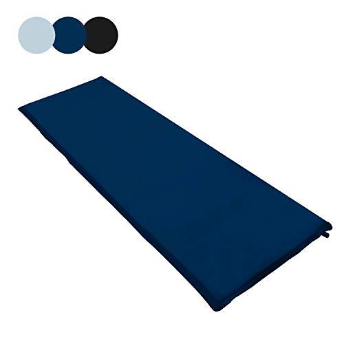 wolketon Selbstaufblasende Isomatte Ultraleichter Camping Isomatte Wasserdicht Aufblasbare Luftmatratze Klein für Outdoor,Camping, Reise 190 * 60 * 3CM Schwarz