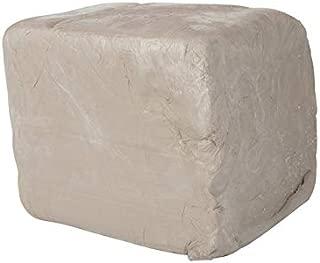 Amaco 45047J High-Fire Moist Stoneware Clay, 38 White