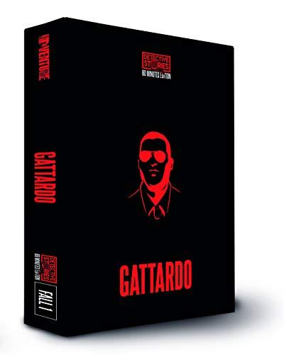 iDventure Detective Stories. 60 Min Edition. Fall 1 - GATTARDO. Tatort Detektivspiel, Krimispiel, Escape Room Spiel für zu Hause