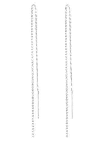 Elli Ohrringe mit Ketten Symbol Elegant Filigran in 925 Sterling Silber