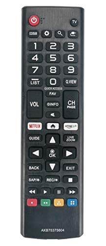 New Remote Control fit for LG TV 4K HDR Smart LED UHD TV 50UK6090PUA 49UK6090PUA 43UK6090PUA 55UK6090PUA 60UK6090PUA 65UK6090PUA UK6090PUA 32LK540BBUA 32LK540BPUA 43LK5400BUA 43LK5400PUA 49LK5400BUA