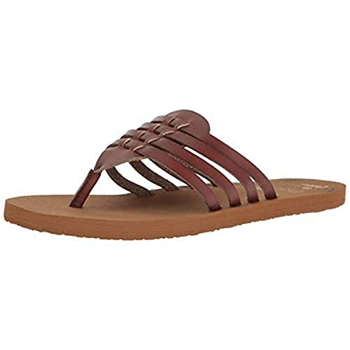 Cobian Women's Aloha Chocolate Sandals, 8