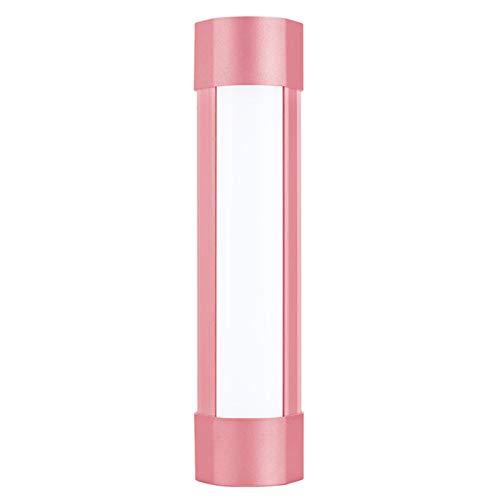 SFGSA Lampara LED Camping Funciona con Pilas Potente y Brillante Farol LED Ideal para Aventuras Acampadas Pesca Senderismo etc,Rosado