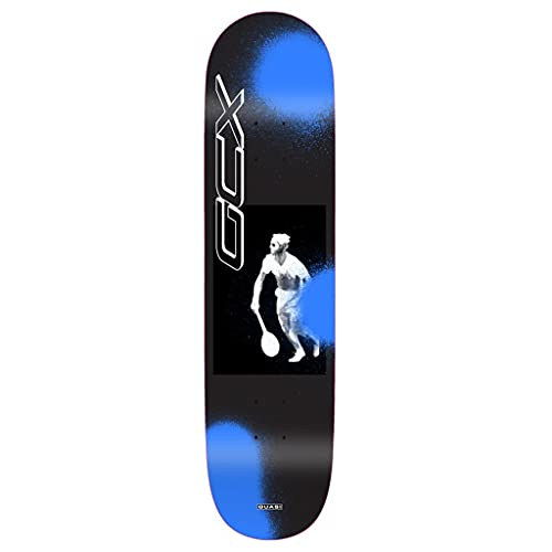 Quasi Skateboard-Brett / Deck, Crockett Duece, 21,6 cm, Schwarz