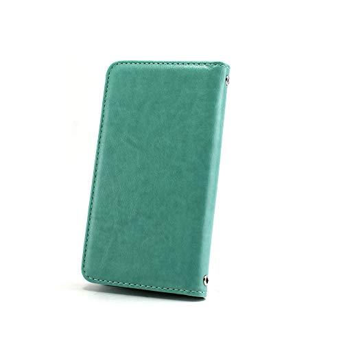 ホワイトナッツ Xperia Z5 Premium SO-03H ケース 手帳型 【左利き】 ベルトなし スタイリッシュ ミント スマホケース エクスペリア ゼットファイブ プレミアム 手帳 カバー スマホカバー WN-OD498023_L
