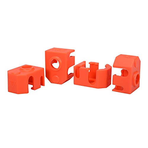 BIQU 4pcs Silicone Sock Heater Block Cover 3D Priner Parts for Phaetus Dragon Hotend Extruder Heater Block Protect Hotend