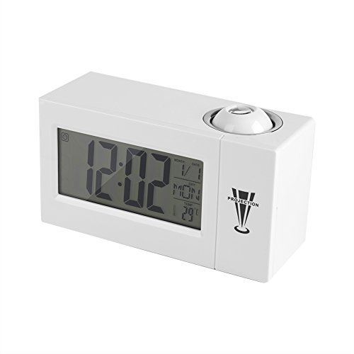 Projection Clock, LCD Display, Sound Control, Ceiling, Wall, Backlight,...