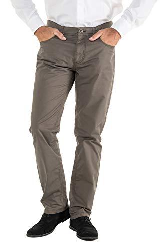 JP 1880 5-Pocket Hose, elastischer Innenbund, Regular Fit, Reine Baumwolle Khaki 64 717157 44-64