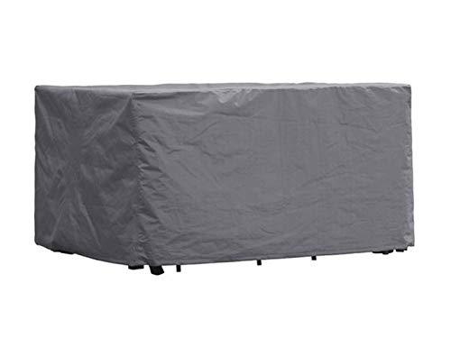 Perel Garden OCGS-S Schutzhülle Für Rechteckiges Lounge-Set - S, Schwarz, 165 x 135 x 95 cm