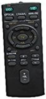 Hotsmtbang Replacement Remote Control For Sony RM-ANU159 HT-CT60C SS-WCT60 2.1 channel 60 watt Soundbar Sound bar Home Theater System