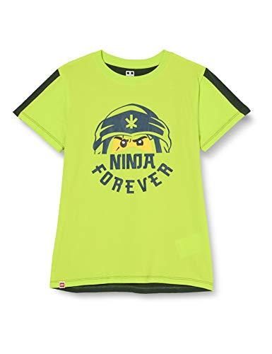LEGO Mwa-T-Shirt Ninjago Camiseta, 810 Verde Lima, 104 cm para Niños