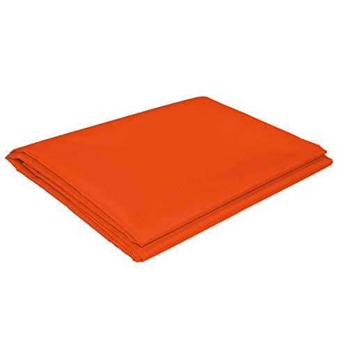 sunprotect 12533 Sonnensegel für Seilspann-Markise, 4,2 x 1,4 m, Sonnenschutz für Pergola Wintergarten Terrasse, orange (1 Stück)