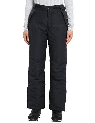 Ultrasport Arlberg Pantaloni da Snowboard/Sci Funzionali da Donna con Ultraflow 2.000, Nero, Small