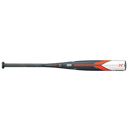 small size Easton 2018 USSSA Ghost X Major League 2 3/4 (-10) Baseball Bat, 30/20 oz