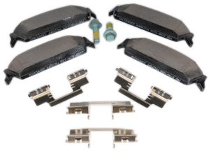 ACDelco 171-0999 GM Original Equipment Rear Disc Brake Pad Set with Shims and Bolts