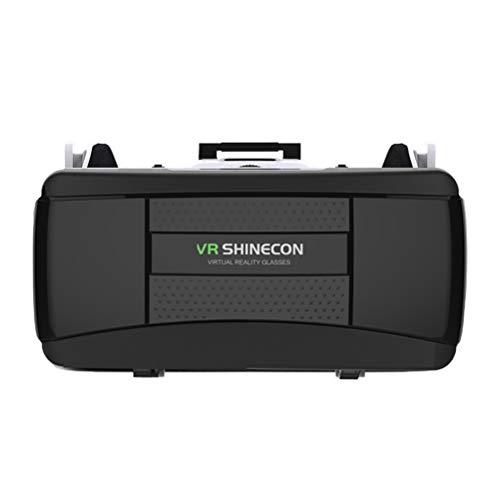 Great Price! Hemobllo VR Headset 3D Virtual Reality Glasses Build-in Stereo Headphone Adjustable Str...