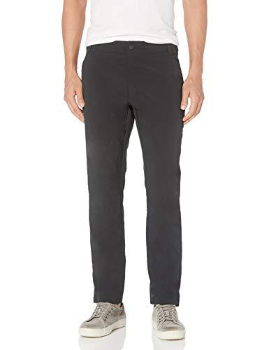 Amazon Essentials Pantalon Tech Slim Fit Hybrid Pants, schwarz, 40W / 32L