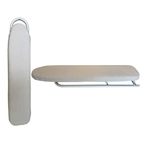 NAWA Tabla Plancha Mangas y Ropas Pequeñas. Plegable, 50X10x4 cm (Metalizada)