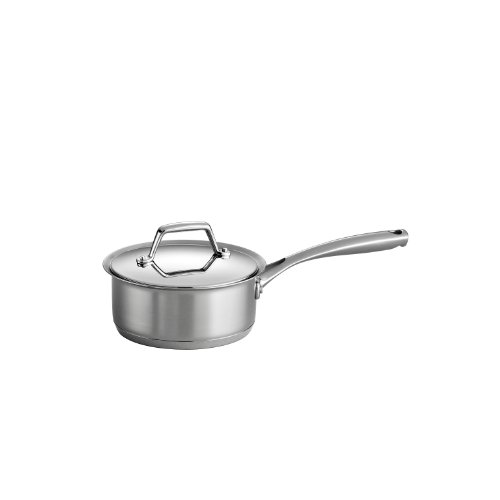 Tramontina Prima Covered Sauce Pan Stainless Steel 1.5 Quart, 80101/023DS
