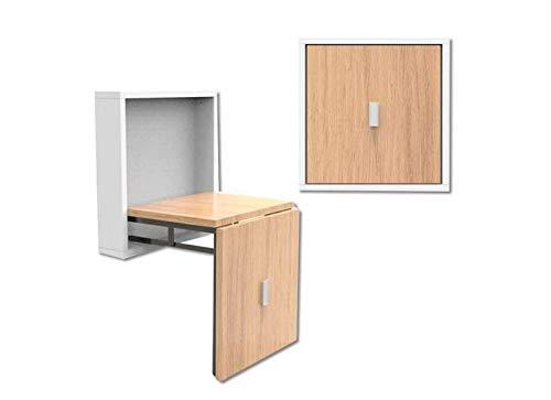Kruk onzichtbare klapstoel voor wand-voetenbank, van massief hout, verwisselbare schoen kruk C