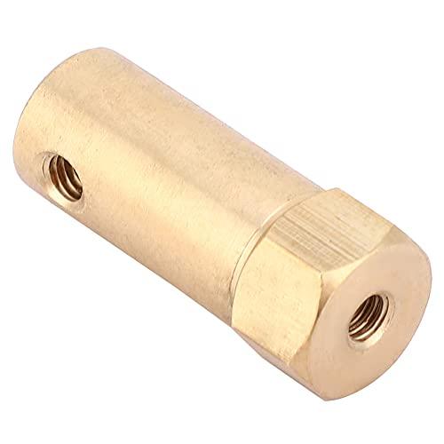 LANTRO JS - Conector de motor de acoplamiento, 5 piezas de accesorios de motor de acoplador hexagonal con tornillo y llave para ruedas de coche, motor de eje de neumáticos(4mm)