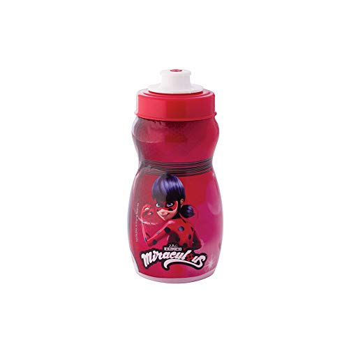 Plasútil 008133-2567 Garrafa Squeeze Miraculous Ladybug Vermelho 300 Ml