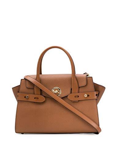Luxury Fashion | Michael Kors Dames 30S0GNMS7L230 Bruin Leer Handtassen | Lente-zomer 20