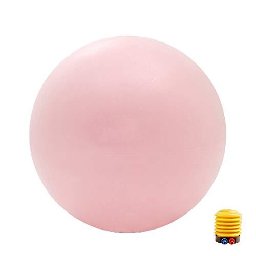 EYLIFE Anti-Burst Swiss Ball 65cm, Schwangerschaftsball, Gymnastikball, Pilatesball, Sportball für das Schwangerschaftstraining Balance Chair, mit Luftpumpe, Pink
