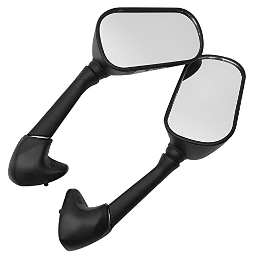 HSSM Motorbike Side Mirrors Universal 7/8' 22mm Motorcycle Side Mirror For Y-amaha YZF R6S 2006 R6S 2007 2008 2009