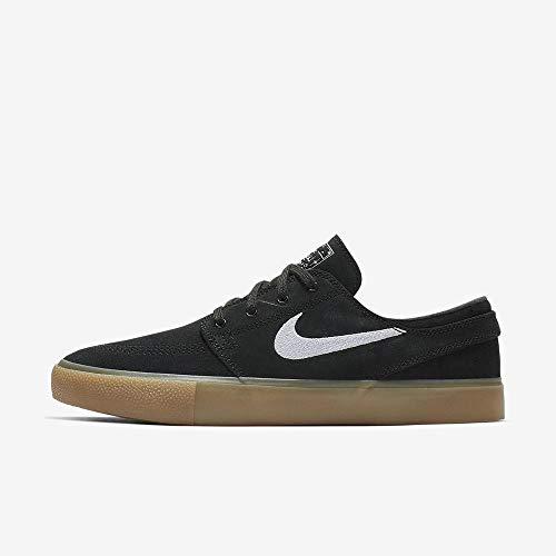 Nike Unisex-Erwachsene Sb Zoom Janoski Rm Fitnessschuhe, Mehrfarbig (Black/White/Black/Gum Light Brown 3), 42 EU