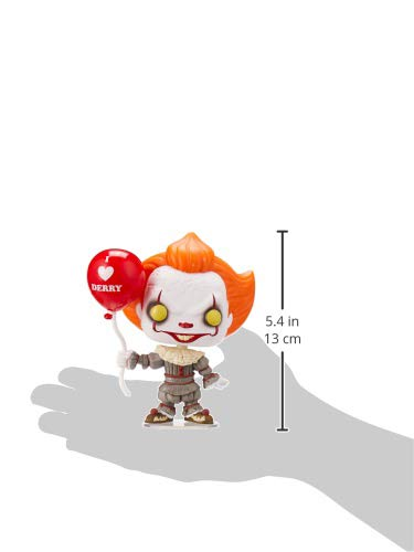 IT Figura Vinilo Chapter 2 - Pennywise with Balloon 780 Unisex ¡Funko Pop!, , 5