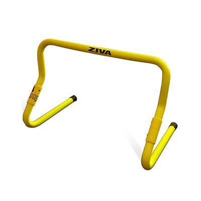 Roda Abdominal Funcional Preto/Amarelo Ziva