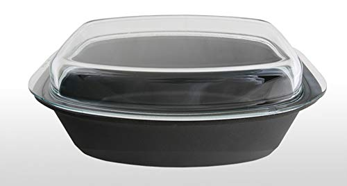 BAF 5001 39 33 1 A Gourmetbräter, 33 x 21 cm Gigant Newline inklusiv Glasdeckel