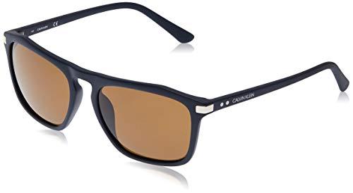 Calvin Klein CK18537S Gafas de Sol, Blue Suede, 5618 para Hombre