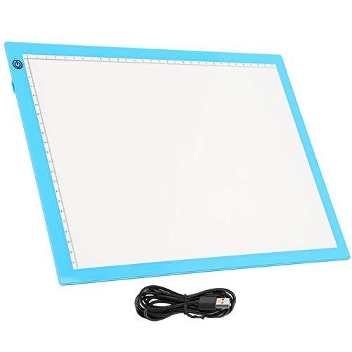 Almohadilla de luz de seguimiento Tableta de dibujo LED Almohadilla de luz A4 Almohadilla de luz Dibujar artistas Animación para caligrafía