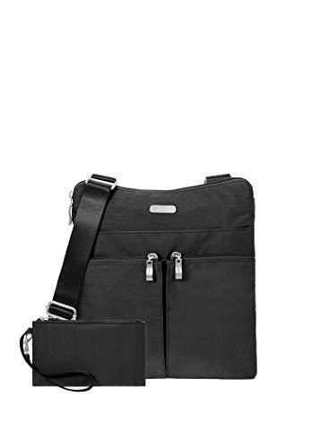 Baggallini womens Horizon Crossbody cross body handbags, Black, One Size US
