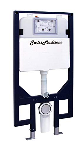 Swiss Madison Well Made Forever SM-WC424 Toilet Tank Carrier, For 2 x 4 Residential Studs, White