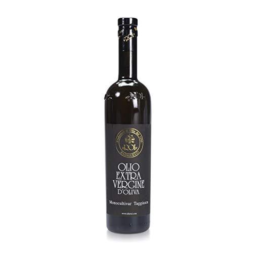 ROI Ligurian Italian Extra Virgin Olive Oil First Cold Pressed - 100% Taggiasca Ligurian Olives - Polyphenol Rich Olive Oil, 17 fl oz (500ml)
