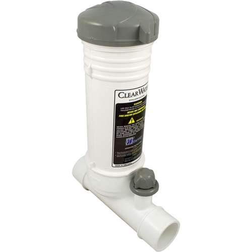 Waterway Clearwater In-Line Automatic Chlorinator (In Ground swimming Pool) # CLCS012-W