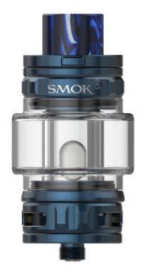 TFV18 Tank 7.5ML Atomizador de cigarrillo electrónico Fit TFV18 Mesh Dual Mesh RBA Coil Vaporizador para Morph 2 MOD Vaping (Azul)