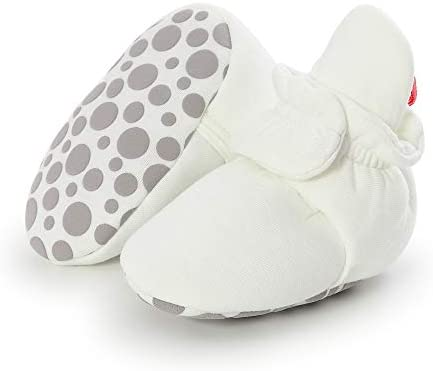Tutoo Infant Baby Boy Girl Cozy Fleece Bootie Newborn Stay On Slipper Sock Soft Sole Gripper product image