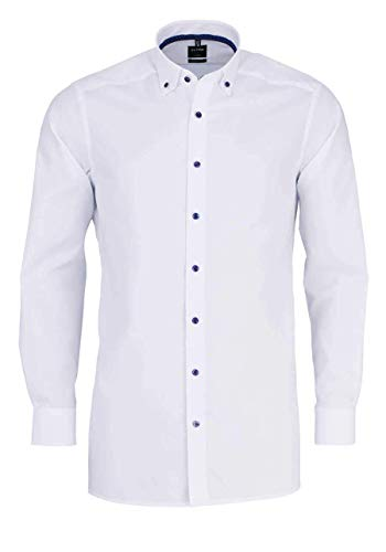 OLYMP Herren Hemd Modern Fit Langarm Weiss (10) 41
