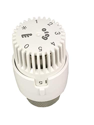 Oreg Thermostatkopf ET 30 Weiß fester Fühler nach EN 215