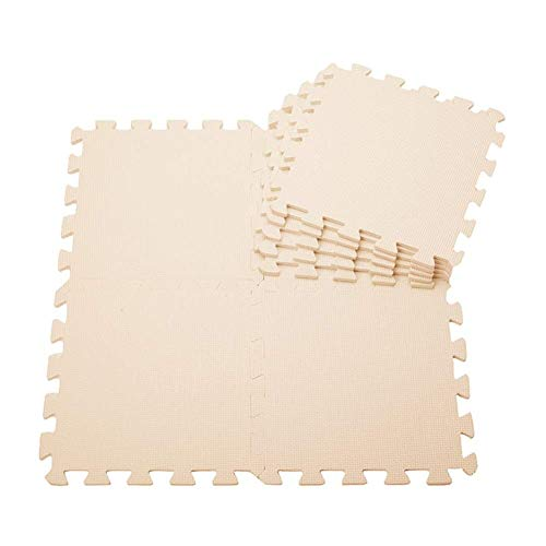 ZTMN Interlocking Foam Vloer Veilig Zacht Duurzaam Kindergarten Nachtkastje Borduurmat, 9 Kleuren 30x30x1cm (Kleur : Roze, Maat : 30x30x1cm(2 Tegels))