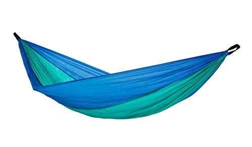 Amazonas Hamac Ultra Light – Adventure Hammock Ice Blue 275 cm x 140 cm jusqu'à 150 kg
