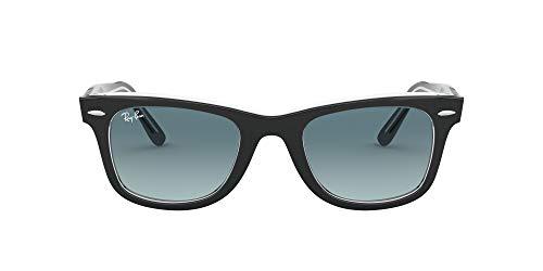 Ray-Ban Wayfarer Gafas de lectura, Schwarz, 50 Unisex Adulto