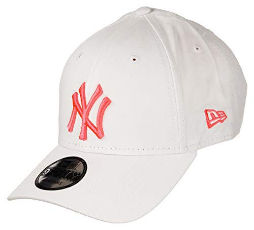 New Era New York Yankees 9forty Adjustable Cap 9forty Injection White/Neon Pink - One-Size