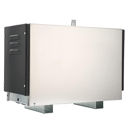 Duokon Generatore di Bagno Automatico, Generatore di Vapore da 9 KW Bagno Turco Generatore di Bagno Disincrostante Automatico Antirottura del Serbatoio dell Acqua 380-415 V per la Casa