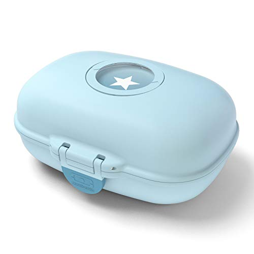 monbento - MB Gram blau Iceberg Snackbox Kinder - Individuell Gestaltbar - BPA frei…