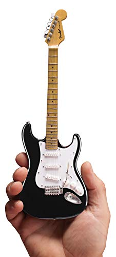 Mini Guitar Eric Clapton Collectible Black Fender Strat Guitar Replica